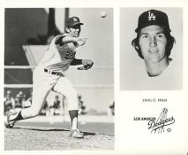 Charlie Hough LIMITED STOCK Los Angeles Dodgers 8X10 Photo