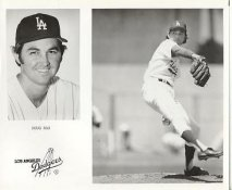 Doug Rau LIMITED STOCK Los Angeles Dodgers 8X10 Photo