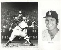 Duke Sims LIMITED STOCK Los Angeles Dodgers 8X10 Photo