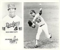 Rick Honeycutt LIMITED STOCK Los Angeles Dodgers 8X10 Photo