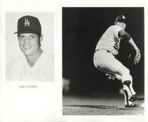 Pete Richert LIMITED STOCK Los Angeles Dodgers 8X10 Photo