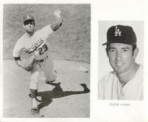 Claude Osteen LIMITED STOCK Los Angeles Dodgers 8X10 Photo