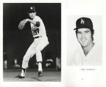 Mike Strahler LIMITED STOCK Los Angeles Dodgers 8X10 Photo