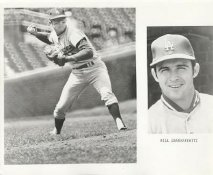Bill Grabarkewitz LIMITED STOCK Slight Edge Damage Los Angeles Dodgers 8X10 Photo