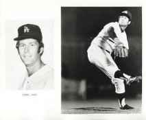 Tommy John LIMITED STOCK Slight Crease Los Angeles Dodgers 8X10 Photo