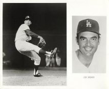 Jim Brewer LIMITED STOCK Slight Crease Los Angeles Dodgers 8X10 Photo