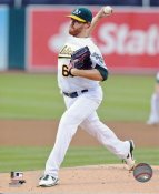 Dan Straily Oakland Athletics SATIN 8X10 Photo