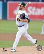 Dan Straily Oakland Athletics SATIN 8X10 Photo