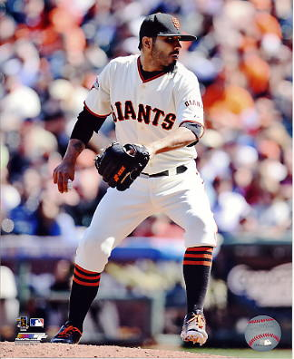 Sergio Romo San Fran Giants SATIN 8X10 Photo