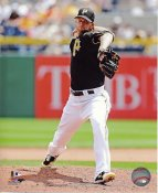 AJ Burnett Pittsburgh Pirates SATIN 8X10 Photo