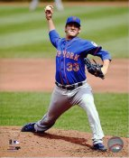 Matt Harvey New York Mets SATIN 8X10 Photo