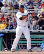 Pedro Alvarez Pittsburgh Pirates SATIN 8X10 Photo