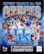 Dan Issel, John Wall, Rajon Rondo, DeMarcus Cousins, Michael Kidd-Gilchrist Kentucky All Time Greats SATIN 8X10 Photo LIMITED STOCK -