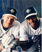 Ken Griffey & Alex Rodriguez Seattle Mariners LIMITED STOCK 8X10 Photo