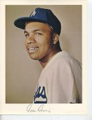 Tommy Davis Original Stadium Souvenir With Stamped Signature Dodgers 8.5X11 Photo
