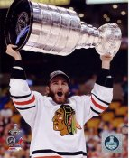 Brandon Saad W/ Stanley Cup Chicago Blackhawks 2013 Stanley Cup Champions SATIN 8x10 Photo