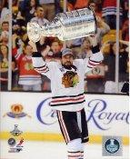 Patrick Sharp W/ Stanley Cup Chicago Blackhawks 2013 Stanley Cup Champions SATIN 8x10 Photo