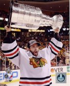 Corey Crawford W/ Stanley Cup Chicago Blackhawks 2013 Stanley Cup Champions SATIN 8x10 Photo