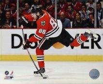 Patrick Kane Chicago Blackhawks 2013 Stanley Cup Champions Playoff Game SATIN 8x10 Photo