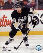 Kris Letang 2013 Stanley Cup Playoff Game Pittsburgh Penguins SATIN 8x10 Photo