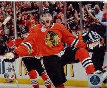 Patrick Kane Celebrates 1st Goal Game 5 Chicago Blackhawks 2013 Stanley Cup Finals SATIN 8x10 Photo