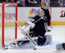 Jonathan Quick 2013 Stanley Cup Playoff Game LA Kings SATIN 8x10 Photo