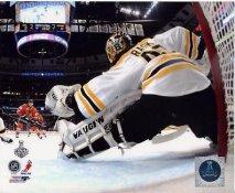 Tuukka Rask Game 2 Stanley Cup Finals 2013 Boston Bruins SATIN 8x10 Photo