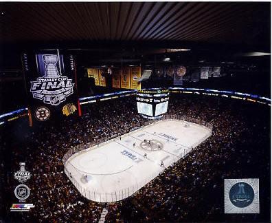 N2 TD Garden 2013 Stanley Cup Finals Game 3 Boston Bruins SATIN 8X10 Photo
