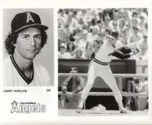 Larry Harlow LIMITED STOCK California Angels ORIGINAL TEAM ISSUED 8X10 Photo