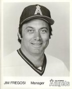 Jim Fregosi LIMITED STOCK California Angels ORIGINAL TEAM ISSUED 8X10 Photo