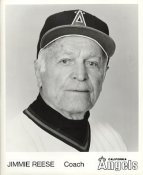 Jimmie Reese LIMITED STOCK California Angels ORIGINAL TEAM ISSUED 8X10 Photo