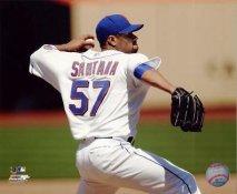 Johan Santana LIMITED STOCK NY Mets 8X10 Photo