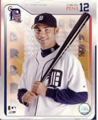 Carlos Pena LIMITED STOCK Studio Detroit Tigers 8X10 Photo