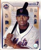 Jose Reyes LIMITED STOCK Studio New York Mets 8X10 Photo