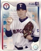 Chan Ho Park LIMITED STOCK Studio Texas Rangers 8X10 Photo
