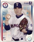 Chan Ho Park LIMITED STOCK Studio Texas Rangers 8X10 Photo
