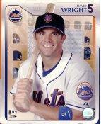 David Wright Studio NY Mets LIMITED STOCK 8X10 Photo