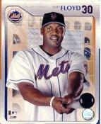 Cliff Floyd SUPER SALE Small Corner Crease NY Mets 8X10 Photo