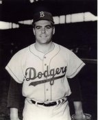 Billy Harris LIMITED STOCK Light Scratch on Photo Brooklyn Dodgers 8X10 Photo