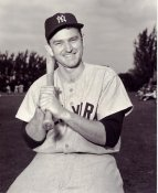 Charlie Silvera LIMITED STOCK New York Yankees 8X10 Photo