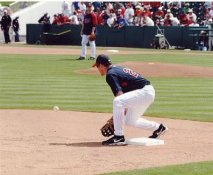 Mike Lamb LIMITED STOCK Minnesota Twins 8X10 Photo