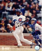 Sammy Sosa SUPER SALE Crease in Corner of Photo Chicago Cubs 8X10 Photo
