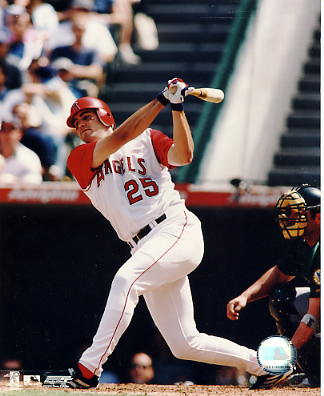 Troy Glaus SUPER SALE Slight Scratch Top Corner Anaheim Angels 8X10 Photo