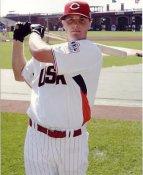 Jay Bruce LIMITED STOCK Team USA / Cincinatti Reds 8X10 Photo