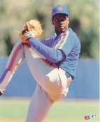 Dwight Gooden LIMITED STOCK New York Mets Glossy Card Stock 8X10 Photo