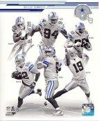 Tony Romo, Jason Witten, Demarco Murray, Demarcus Ware, Dez Bryant, Miles Austin 2013 Dallas Cowboys Team SATIN 8X10 Photo