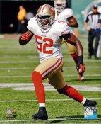 Patrick Willis San Francisco 49ers SATIN 8X10 Photo