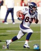 Wes Welker Denver Broncos SATIN 8X10 Photo