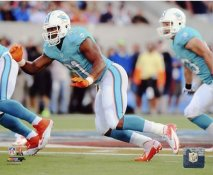 Cameron Wake Miami Dolphins SATIN 8X10 Photo