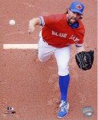 R.A. Dickey Toronto Blue Jays SATIN 8X10 Photo